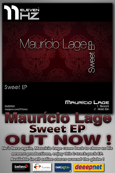 EHZEP071 - Maurício Lage - Sweet EP - 11Hz Recordings
