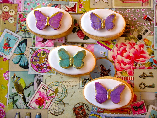 Butterfly cookies