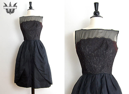 ADORED VINTAGE: Vintage Shop Updates: Little Black Vintage Dresses