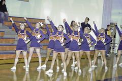 Hall of Fame Basketball010 (Matt Camp Photography) Tags: girls hot sports cheerleaders north cheer huskie nnhs