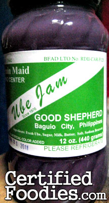 Good Shepherd Ube Jam - CertifiedFoodies.com
