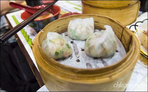 Steamed dumpling in chiu chow style