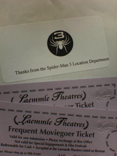 25 tomas de spiderman 3 en desarrollo