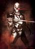 Gray Fox (Traumatron Illustration) Tags: metalgear grayfox conceptart characterdesign cyborgninja traumatron frankjaegar