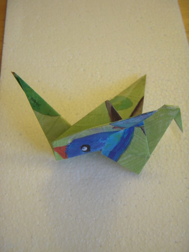 Origami #14: Flapping Bird
