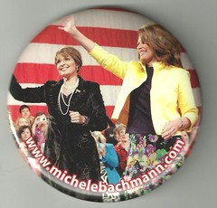 Michele Bachmann / Sarah Palin Button 20 by Mpls55408, on Flickr