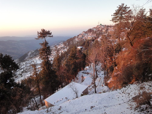Good Morning Murree ! View from Morning Side Hotel Murree