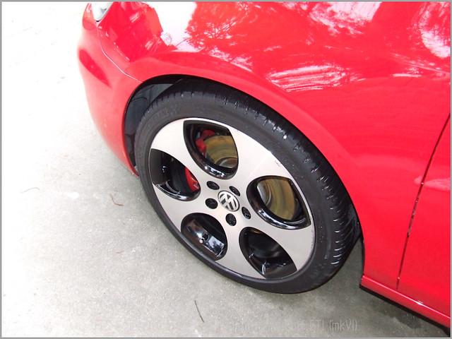 Detallado exterior VW Golf GTI mkVI-65
