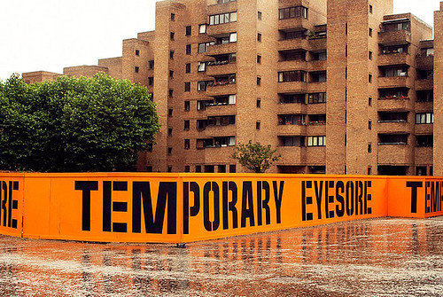 Scott King, Temporary Eyesore, 2008