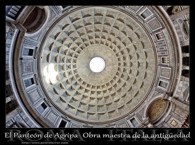 Roma - El Panteón - cúpula