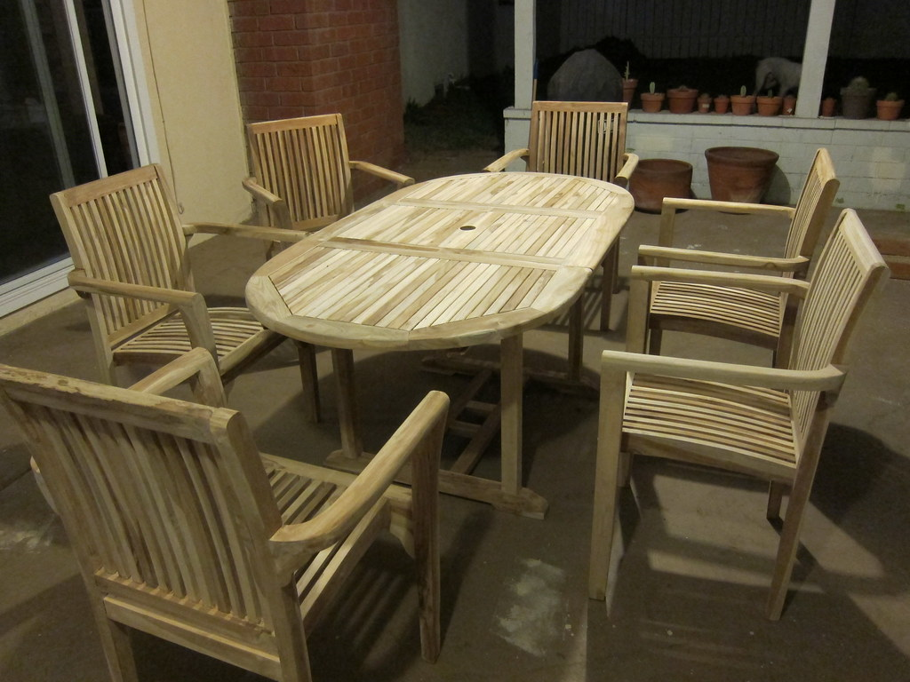 Teak Table and Chairs