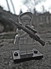 Simo Hyh - Finnish sniper (Lakuda's customs and surplus) Tags: brick infantry army gun arms lego sale painted military sniper figure ww2 minifig custom brickarms miinifigs