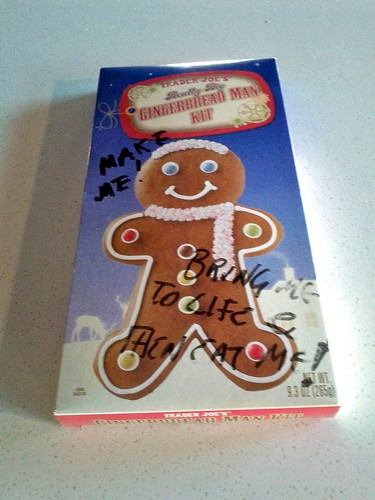 Day 21 - Lonely Gingerbread Man