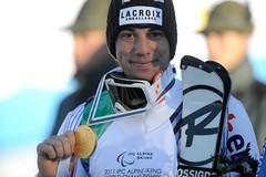 Vincent Gauthier, champion du monde de slalom aux championnats du monde handisport 2011 à Sestriere