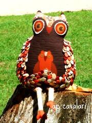 Owlflia 4 (AP.CAVALARI / ANA PAULA) Tags: quilt owl coruja feitoamo anapaulacavalari apcavalari alfomada