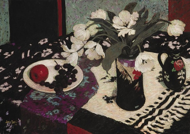 Still Life in Purple and Black