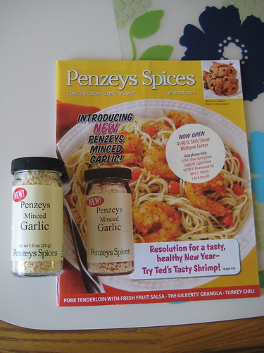 Penzey's minced garlic spice and penzey's spices catalog