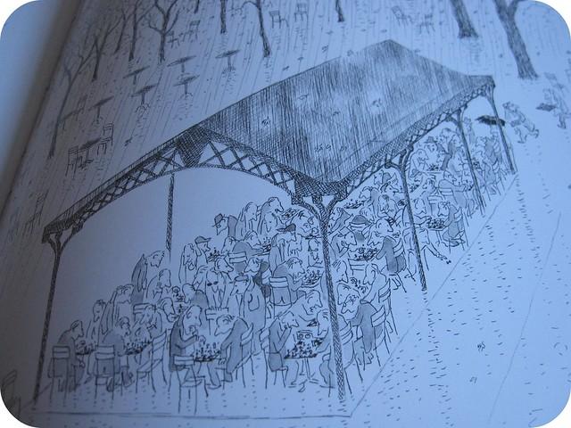 sempe sketch a bit of paris