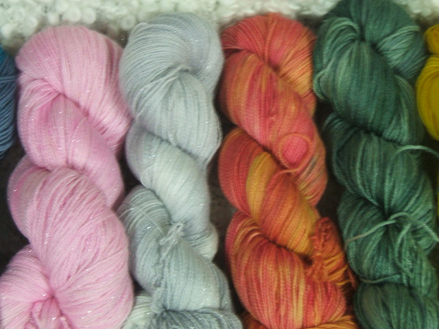 My dyed yarn