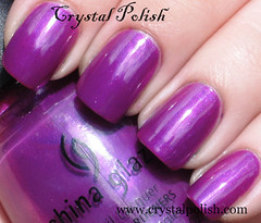 China Glaze On the Prowl (CrystalPolish) Tags: purple shimmer ontheprowl chinaglaze patentleatherinthecity