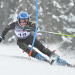 Guillaume DELMAS FRENETTE of Quebec takes 4th Place in the U14 Boys Slalom Race held on Whistler Mountain on April 5th, 2014. Photo by Scott Brammer - coastphoto.com