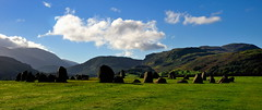 Morning at Castlerigg (images@twiston) Tags: morningatcastlerigg castlerigg stone circle neolithic stonecircle keswick cumbria lakedistrict lakedistrictnationalpark nationaltrust ancientmonument scheduledancientmonument standing stones megalith standingstones megalithicyard prehistoric stoneage atmospheric fell fells grass mountains clouds mist landscape imagestwiston castleriggstonecircle ancient historic lake district national park countryside mountain lakeland blue sky white sunny sunlight early morning