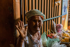 Balinese woman selling things at a Market (chrisphoto323) Tags: bali indonesia women poor selling shop people