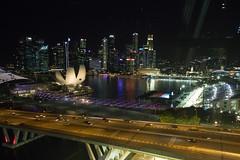 Marina Bay (Kam2y) Tags: singapore singaporegp eos7dmarkii singaporeflyer marinabaystreetcircuit 1020mmf35exdchsm