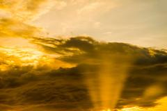 Breakthrough (danliecheng) Tags: abstract break breakthrough clouds color dark dense golden light nature orange rays sky success sunlight sunrise sunset warm