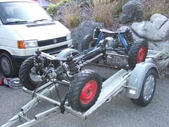 STEYR PUCH Haflinger 4WD (John Steam) Tags: oldtimer teilemarkt lauffen bad ischl obersterreich austria allrad 4wd 4x4 gelndewagen steyr puch haflinger antrieb getriebe aufhngung fahrgestell 700ap