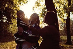 Beautiful family (Omar Carter Photography) Tags: friends vanessa baby newyork david love girl brooklyn 50mm blind prospectpark pregnant maternity 28 18 bk visuallyimpaired davidjr vivitarseries1 canont1i