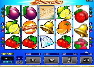 Summertime slot game online review