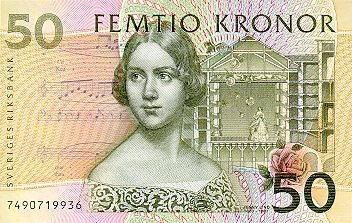 Swede 50 Kronor