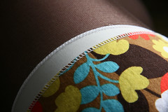Pretty seams on the A-line skirt
