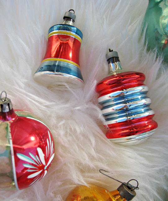vintage christmas tree ornaments -6