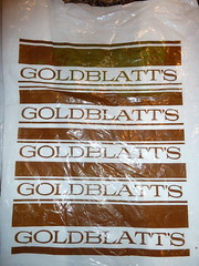 Goldblatt's Plastic Bag (Mark 2400) Tags: chicago bag plastic goldblatts