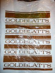 Goldblatt's Plastic Bag (Mark 2400) Tags: chicago bag plastic goldblatts