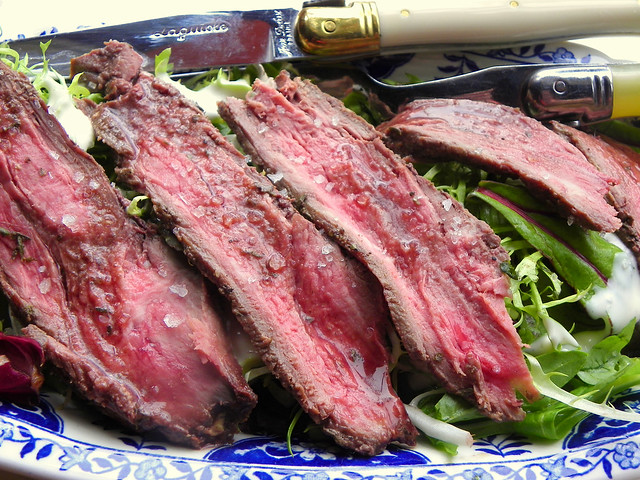 Barbecued Flank Steak