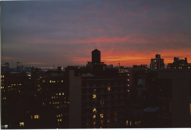 NYC sunset