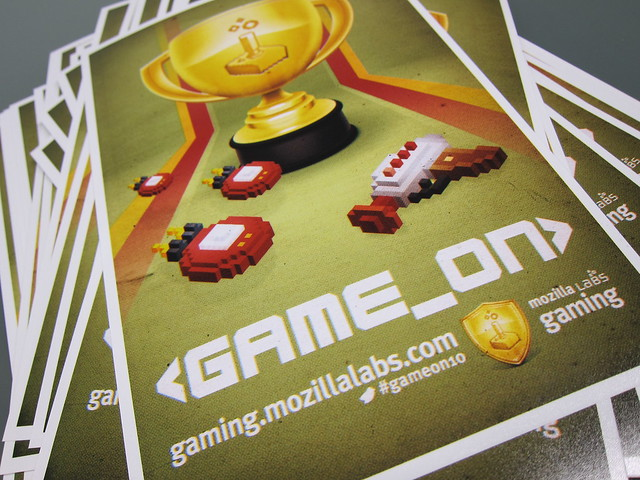 Flyer for <GAME_ON> 10