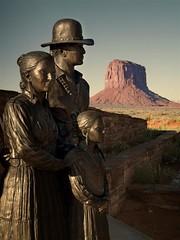 091 Monument Valley USA 1 (SaltydogJacko) Tags: leica monumentvalley usaholiday navajotriballand