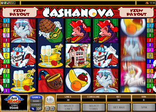 Cashanova slot game online review