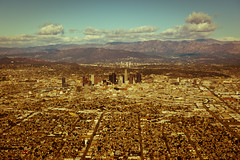 City Of Angels (-william) Tags: losangeles downtown fromtheskies