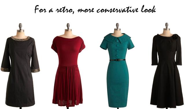retro holiday dresses