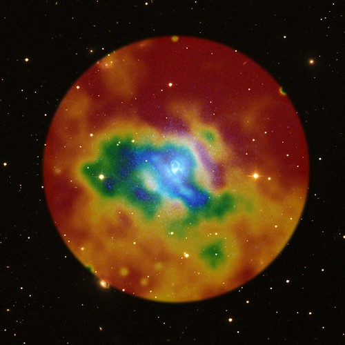 Intergalactic Weather Map (NASA, Chandra, 12/08/10)