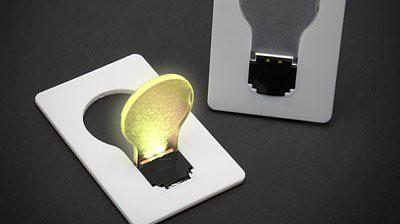 Credit Card Light Bulb