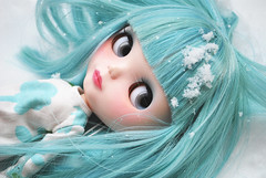 Snow fairy princess