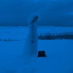 Never (sonyacita) Tags: blue winter selfportrait snow boots duotone weddingdress utata:description=hide utata:project=ip115