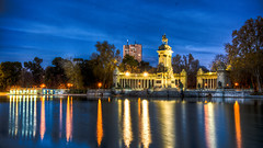 Monument to Alfonso XII, Madrid (mathewbest) Tags: madrid canon cityscape hdr scky photomatix 5d2