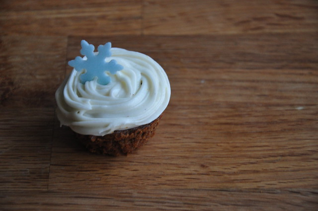 ... That Could: Gingerbread Cupcakes with Cinnamon Cream Cheese Frosting